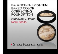 Balance-n-Brighten Baked Color Correcting Foundation - originally $33.00, now $23.10