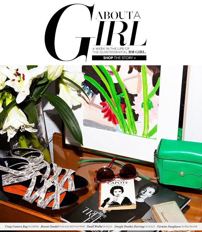 About a Girl: A week in the life of the quintessential RM girl