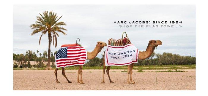 Marc Jacobs | Flag Towel 1984