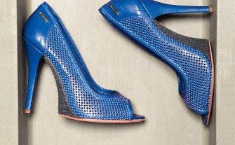 CNC and GF FERRE Shoes & Handbags- Visit Event
