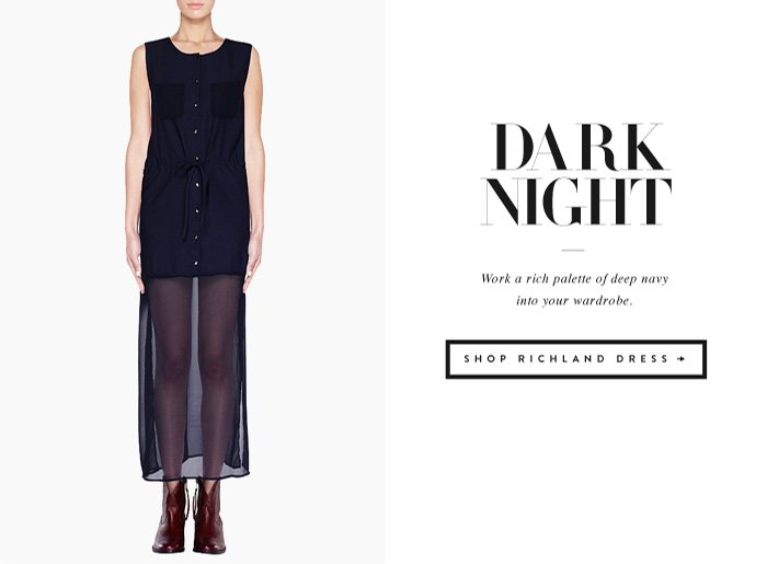 Dark Night - Work a rich palette