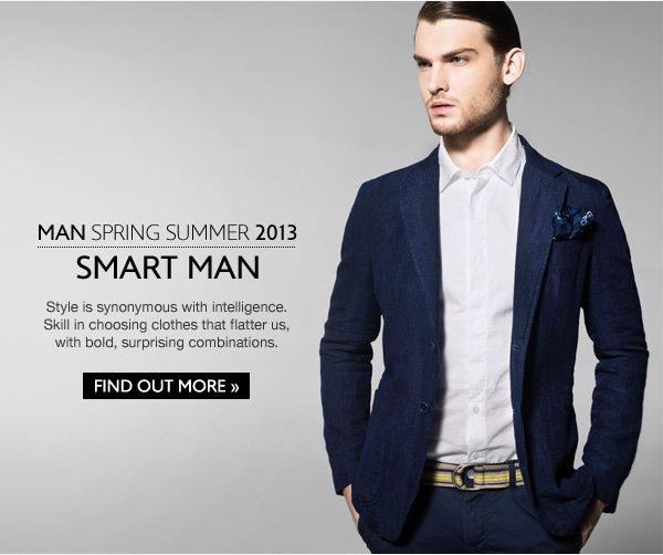 Spring Summer 2013 Man Smart