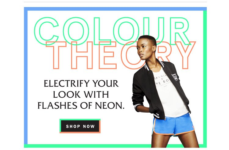 Spring Trend: Flashes of Neon!