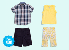 Sunny Weather Ahead Kids' Preppy Style