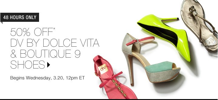 50% Off* DV By Dolce Vita & Boutique 9 Shoes
