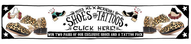 Win Two Pairs of our Exclusive Shoes and a Tattoo Pack