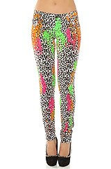 The Neon Leopard Paintball Pant