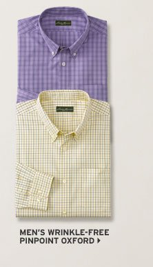 Relaxed Fit Wrinkle-Free Pinpoint Oxford Shirt