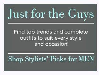 Shop Stylists' Picks for MEN