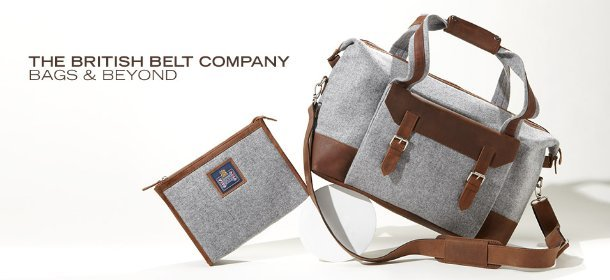 THE BRITISH BELT COMPANY: BAGS & BEYOND, Event Ends March 24, 9:00 AM PT >
