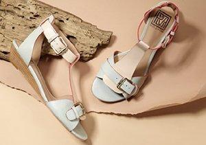 Pretty in Pastel: Flats, Sandals & Pumps