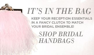 Shop Bridal Handbags