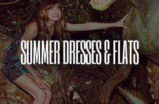 Summer Dresses & Flats