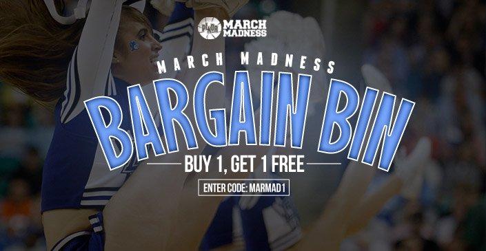 March Madness Bargain Bin