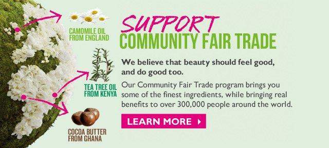 Support COMMUNITY FAIR TRADE
