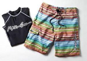 Surf's Up: Maui & Son's Swimwear