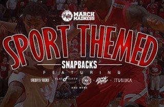 March Madness: Sport Themed Snapbacks