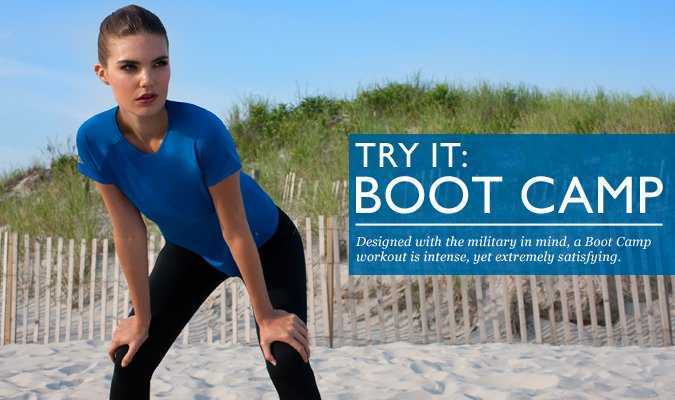 ATTENTION! It's Time For Boot Camp.