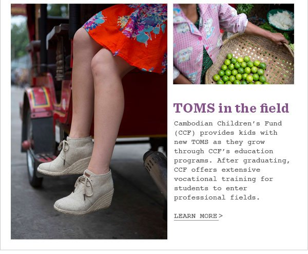 TOMS in the field - Learn More