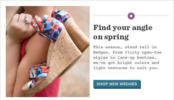 Shop New Wedges