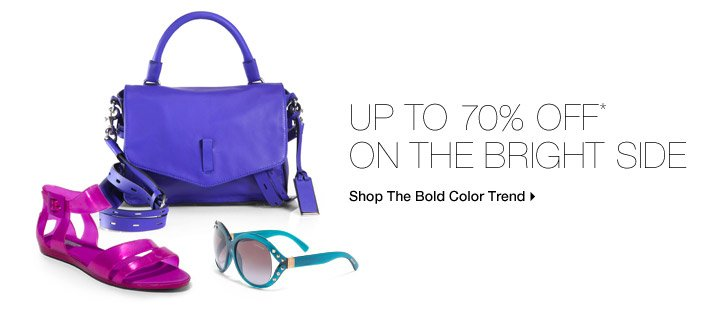 Up To 70% Off* On The Bright Side