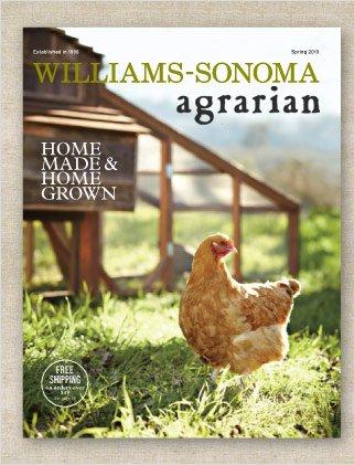 Williams-Sonoma Agrarian eCatalog