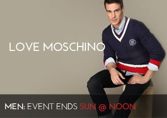 LOVE MOSCHINO - MEN