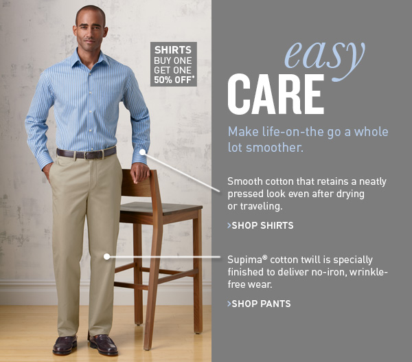 Easy Care Shirts