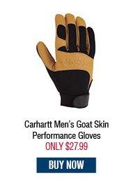 Carhartt Men's Goat Skin Performance Gloves