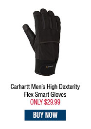 Carhartt Men's High Dexerity Flex Smart Gloves