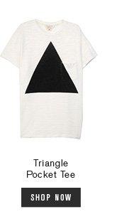 Triangle Pocket Tee