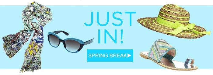 Shop Spring Break