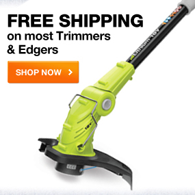 FREE SHIPPING on most Trimmer & Edgers SHOP NOW