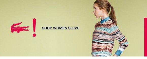 SHOP WOMEN'S LIVE