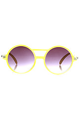 The Moda Sunglasses in Yellow
