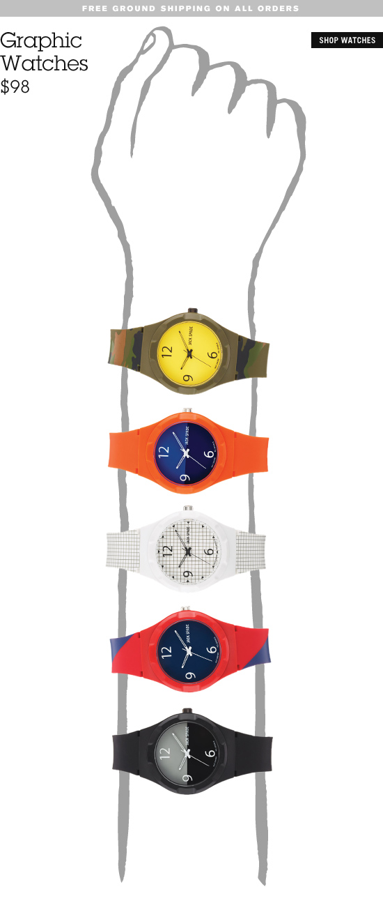 Graphic Watches. Shop Watches.