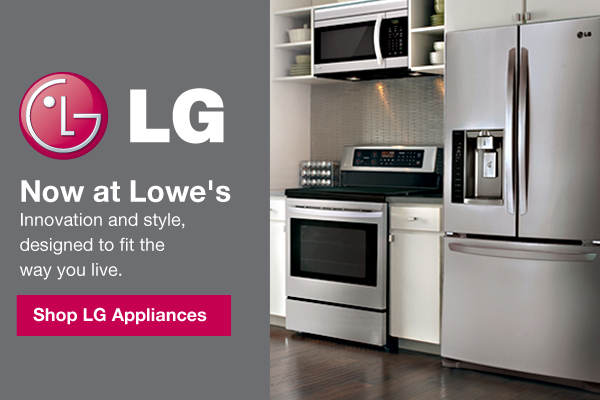 LG now at Lowe's-Shop LG Appliances.