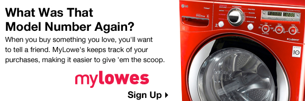 MyLowe's Sign Up
