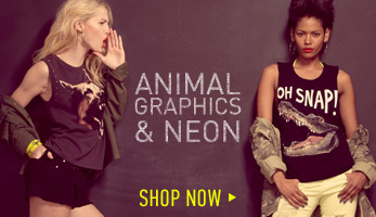 Animal Graphic Tees - Shop Now
