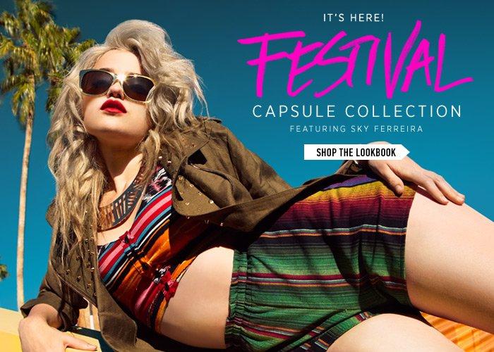 Sky Ferreira x Festival 2013 Capsule Collection - Shop Now