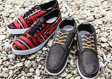 Shop Textured & Canvas Kicks by KEEP
