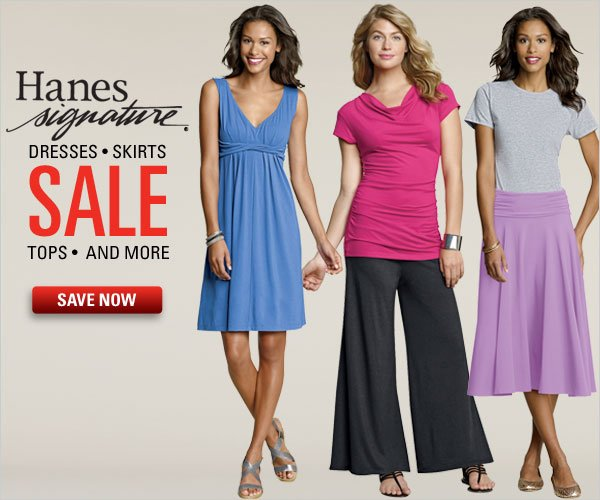 Hanes Signature Apparel Sale