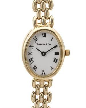 Tiffany & Co. 14K Gold Swiss Ladies Watch $2,899