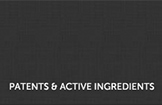 Patents and Active Ingredients