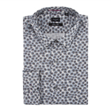 Paul Smith Shirts - Grey Poppy Print Shirt