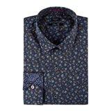 Paul Smith Shirts - Navy Floral Shirt