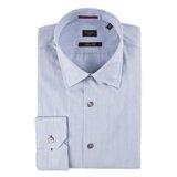 Paul Smith Shirts - Navy Hairline Stripe Shirt