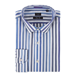 Paul Smith Shirts - Blue Candy Stripe Shirt