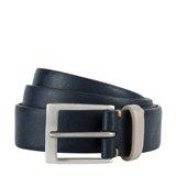 Paul Smith Belts - Navy Saffiano Leather Belt