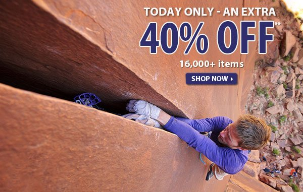 Today Only - Top Secret Sale! An Extra 40% OFF over 16,000 Items!